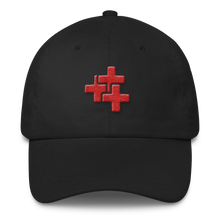 Red Triple Cross Hat