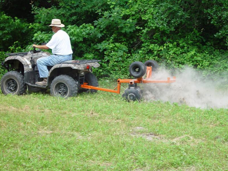 Maintaining a food plot for deer