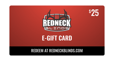 $25 Redneck Blinds E-Gift Card