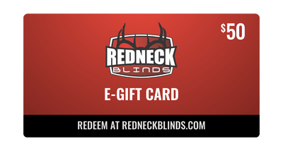 $50 Redneck Blinds E-Gift Card