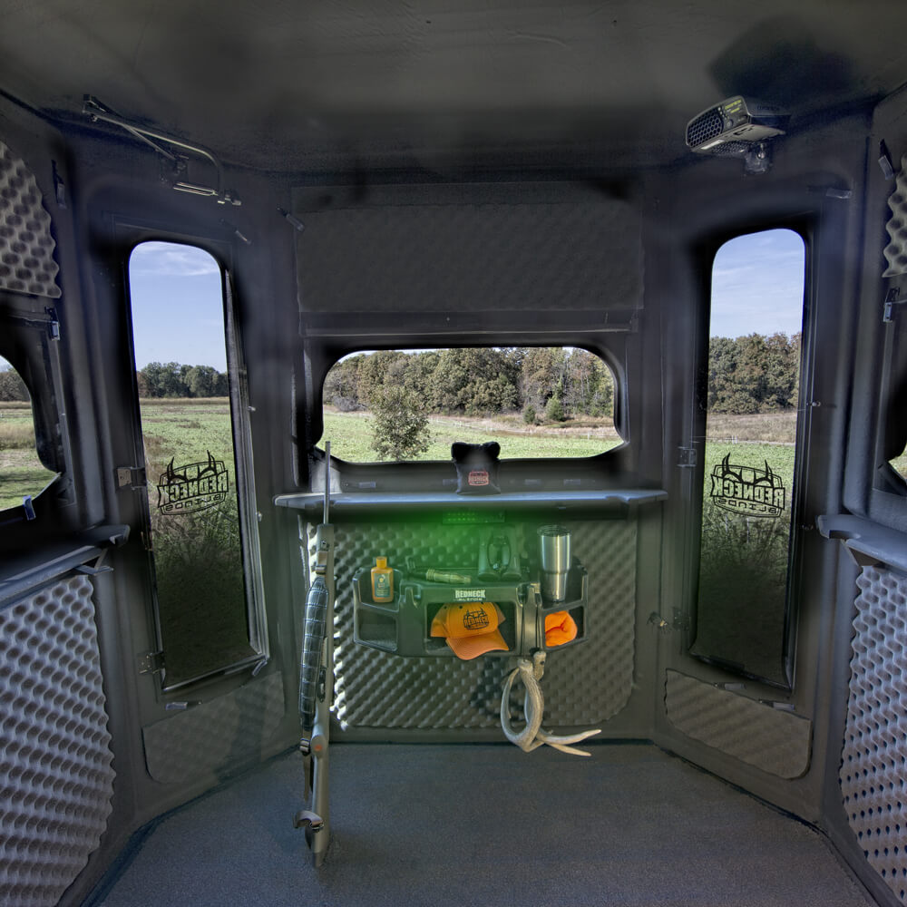 The Buck Palace 6x6 Platinum 360 Hunting Blind Redneck