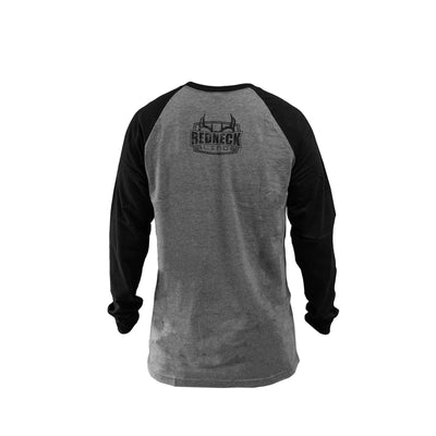 Redneck Blinds Black B-Ball Long Sleeve - Back