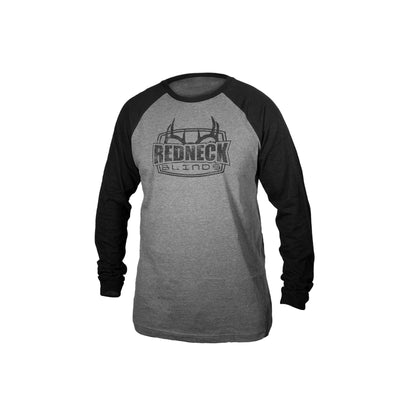 Redneck Blinds Black B-Ball Long Sleeve - Front