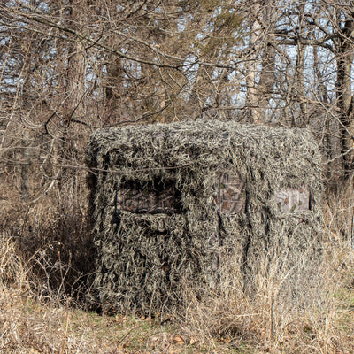 Soft Side 360° Ghillie Deluxe Low Profile 6x6 Blind