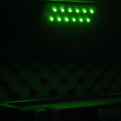 Green LED Under Shelf Light