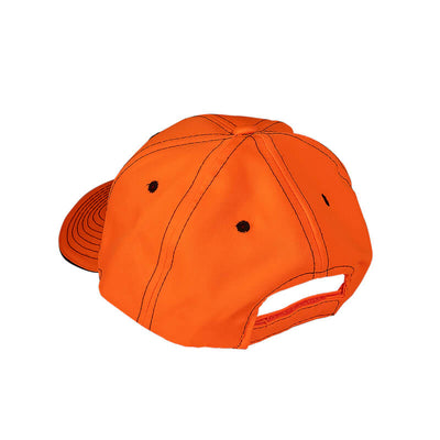 Redneck Blind's Blaze Orange Hat - Back