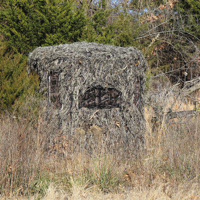 Soft Side 360° Ghillie Deluxe 6X6 Blind