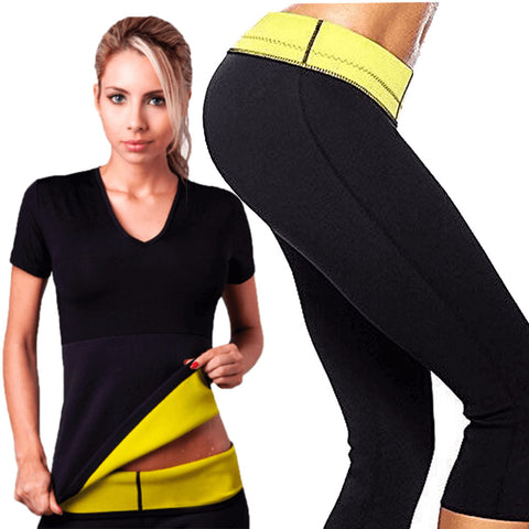 Hot Body Shaper Capri Pant & Shirt
