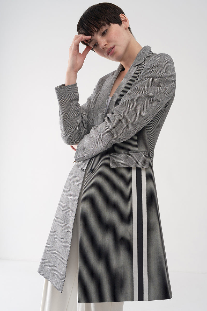 FRAN - Tailored Long Coat - Søsken Studios
