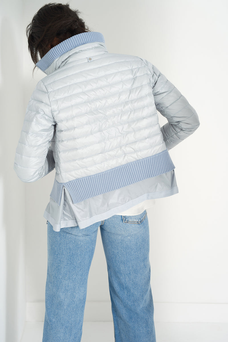 BEV POWDER BLUE - Lightweight Puffer Jacket