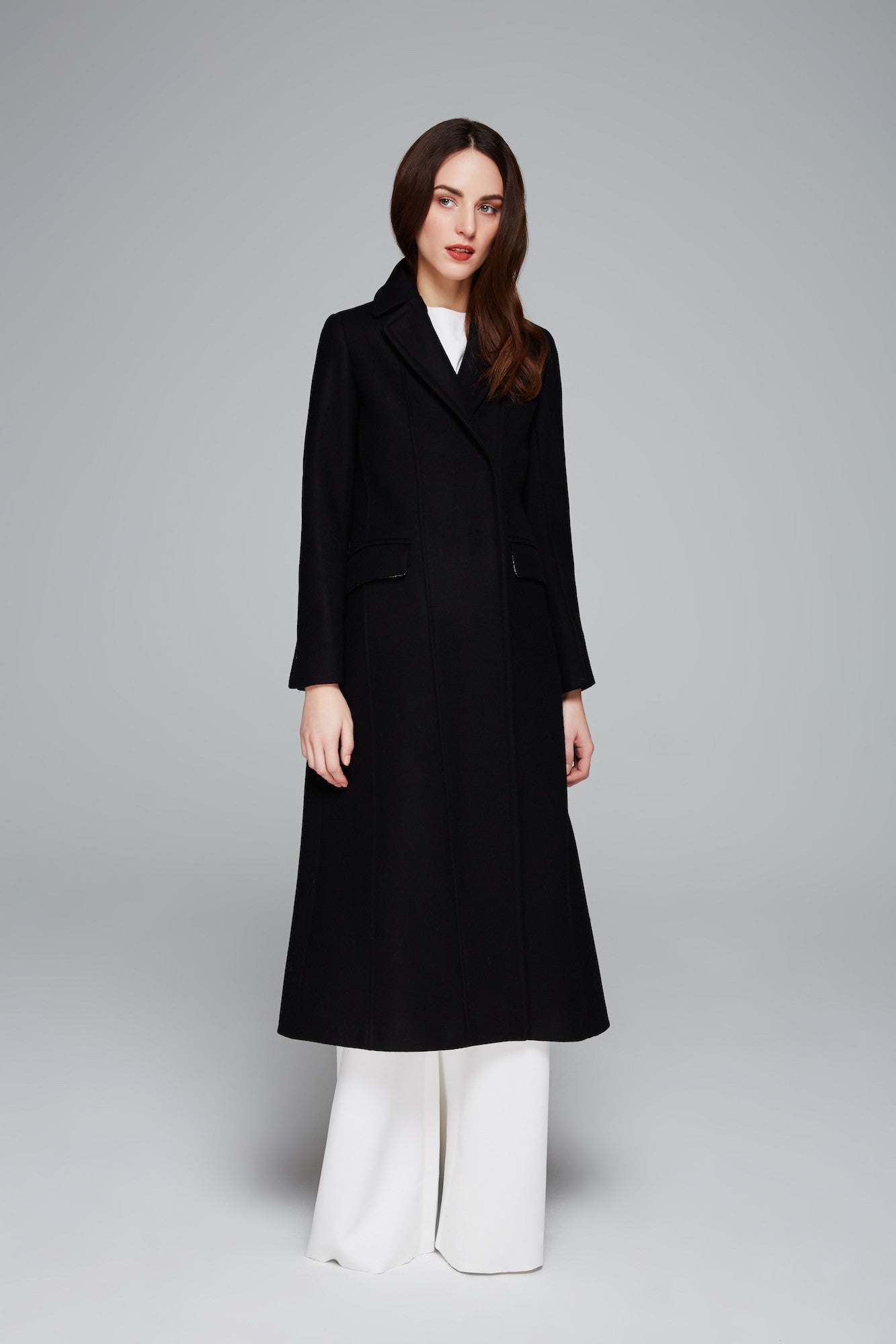 Briel Felted Wool Coat