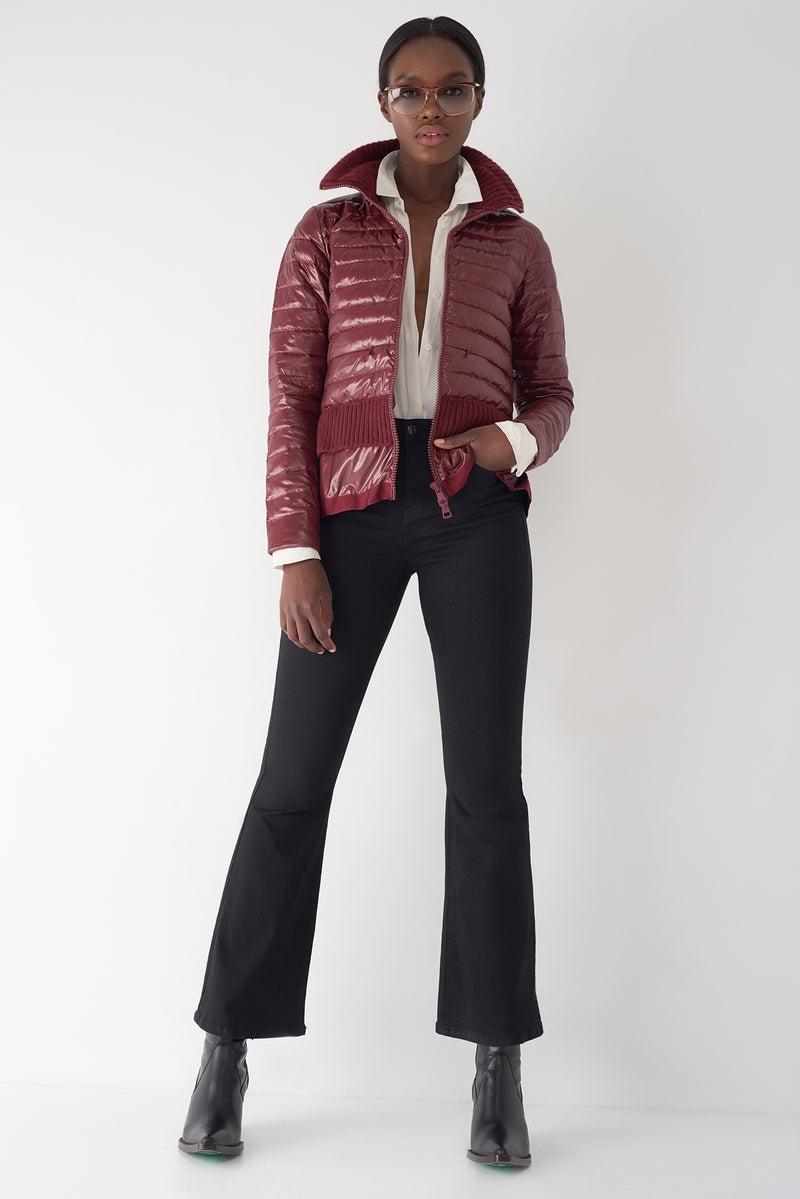 BEV OXBLOOD - Lightweight Puffer Jacket