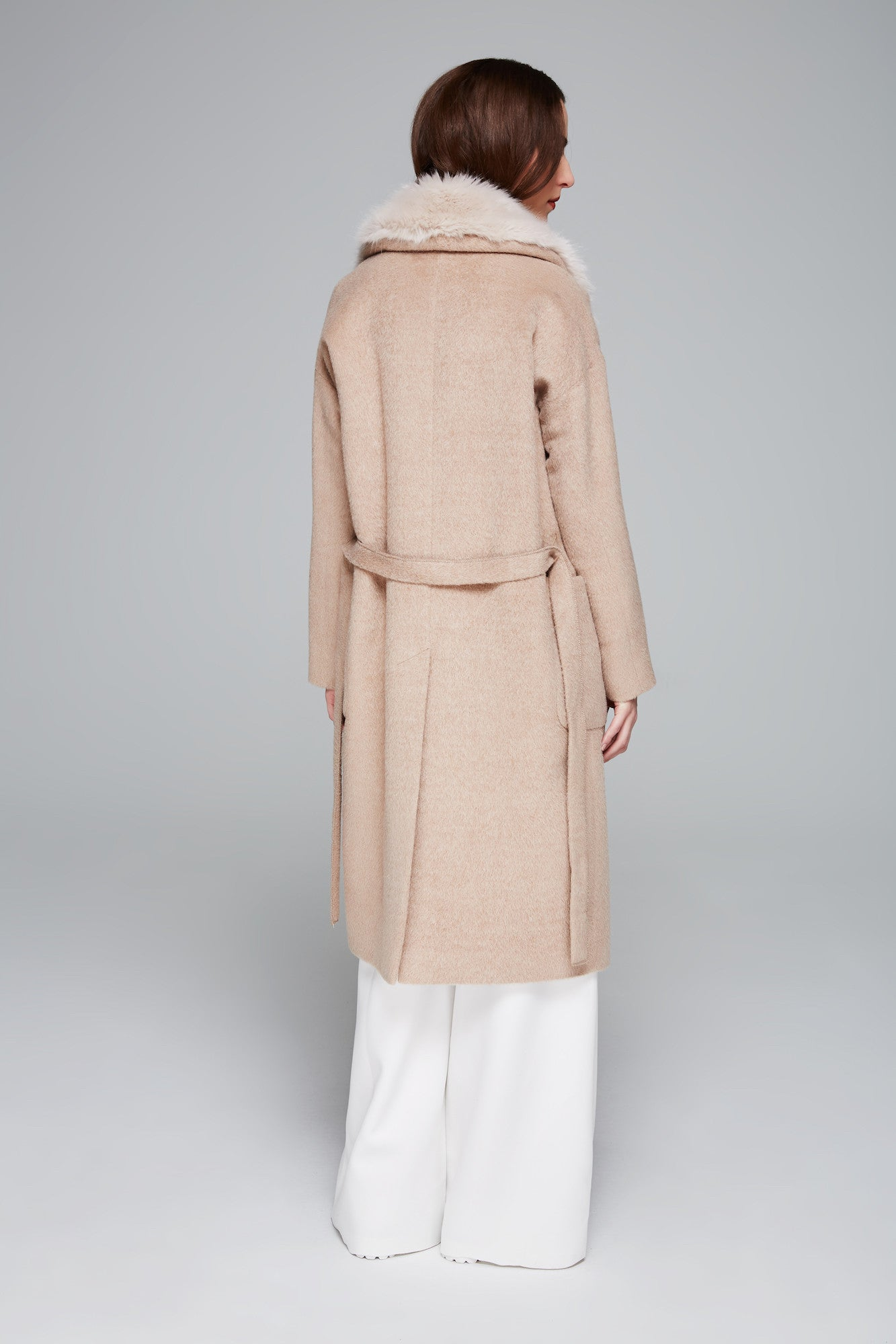 Bali Long Hair Alpaca Coat