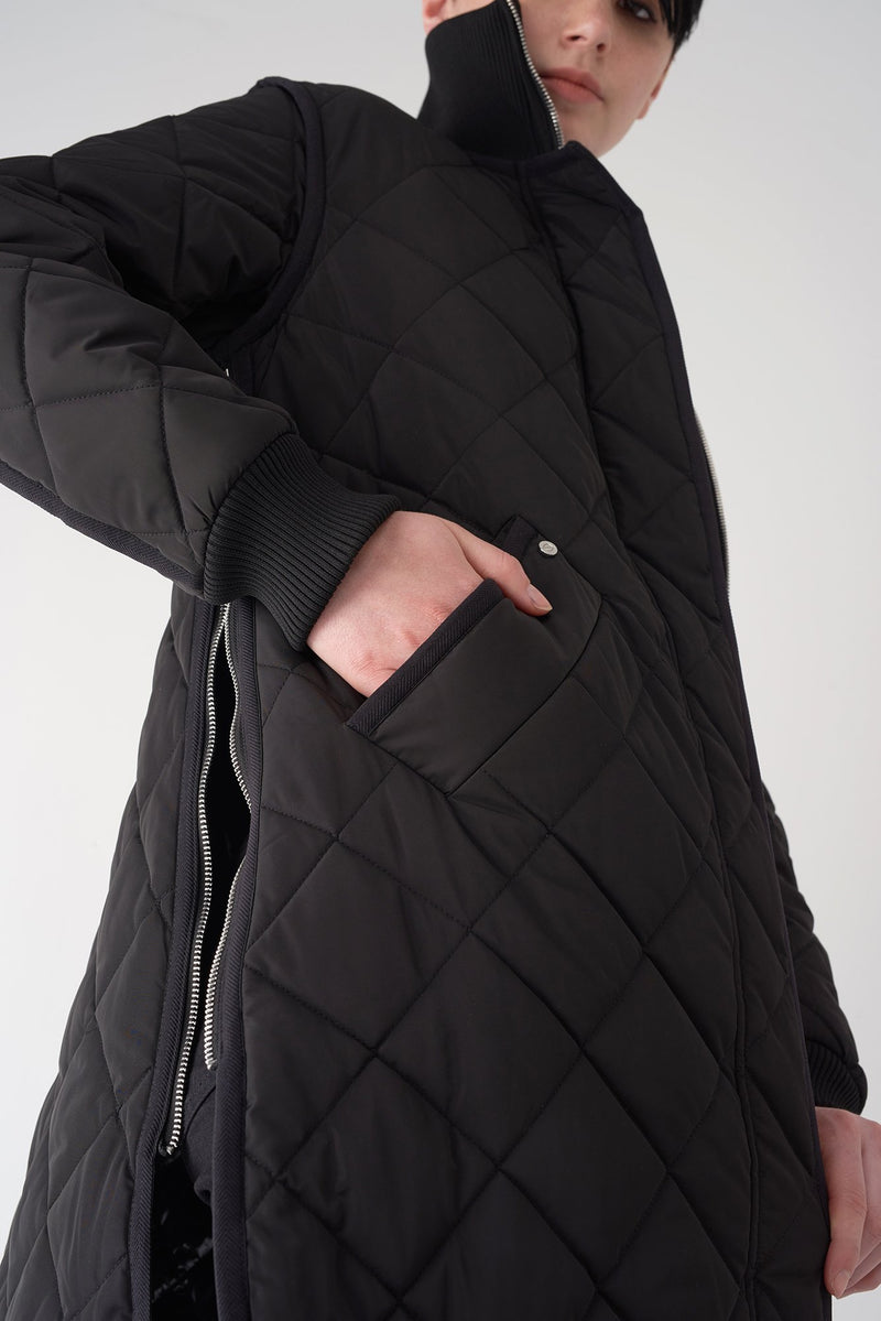GEMMA BLACK - Lightweight Quilted Jacket