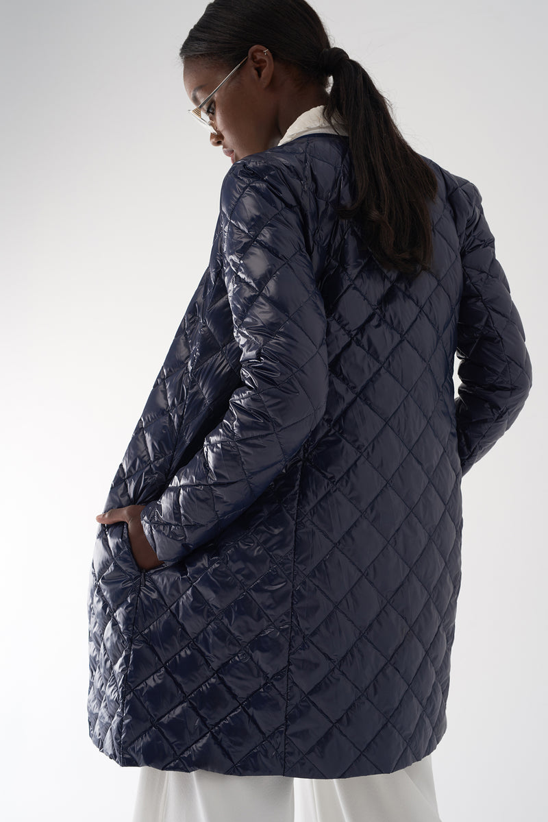 GHIA NAVY - Lightweight Down Jacket