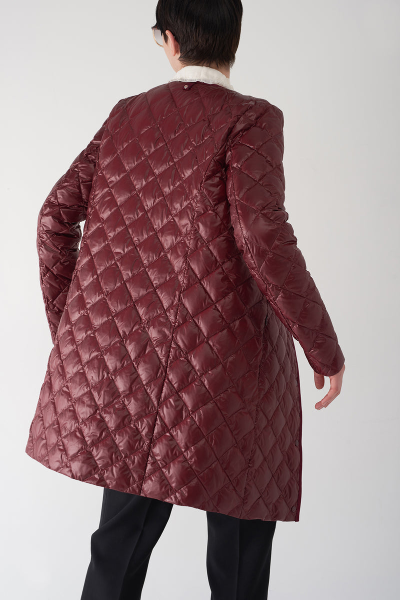 GHIA OXBLOOD - Lightweight Down Jacket
