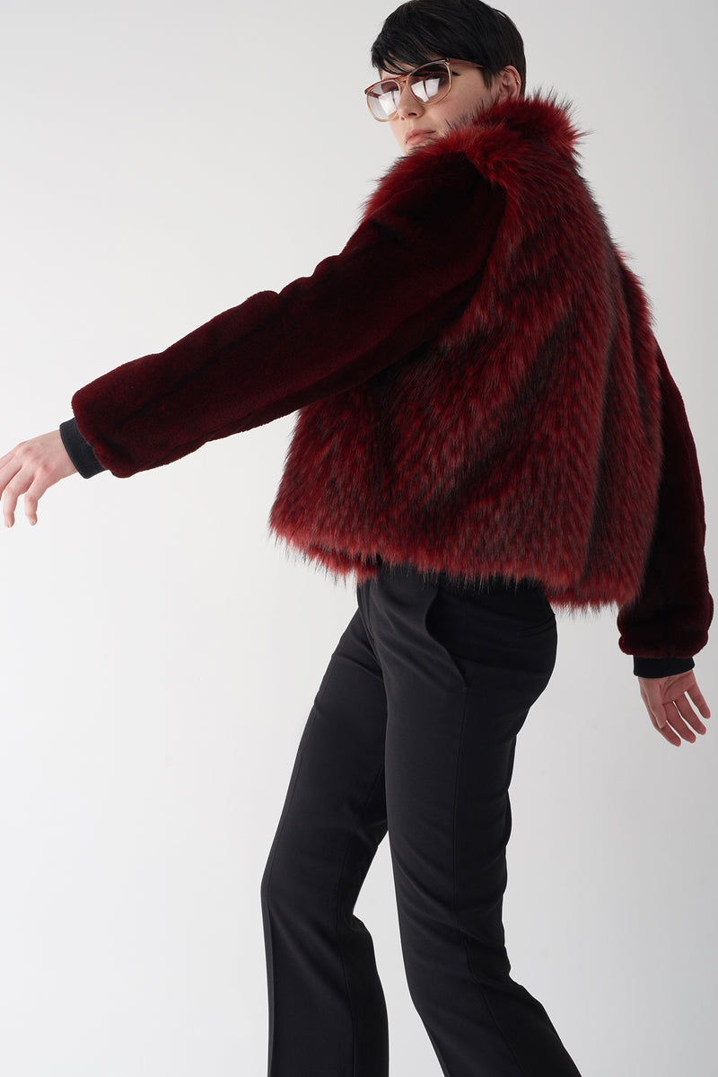GISELA - Faux Fur Jacket