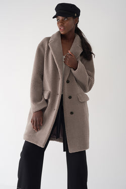 GITA - Oversized Teddy Coat