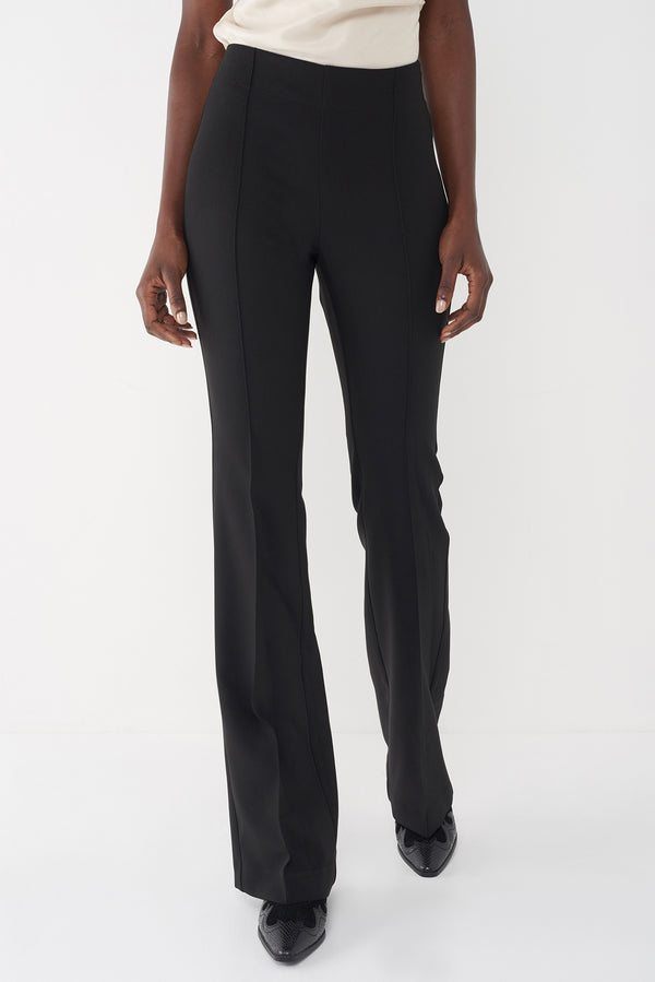 JAMIE - BLACK STRETCH SUITING PANT