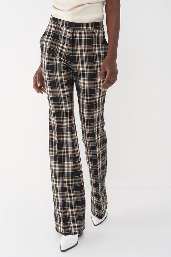 JASON - PLAID STRETCH PANT