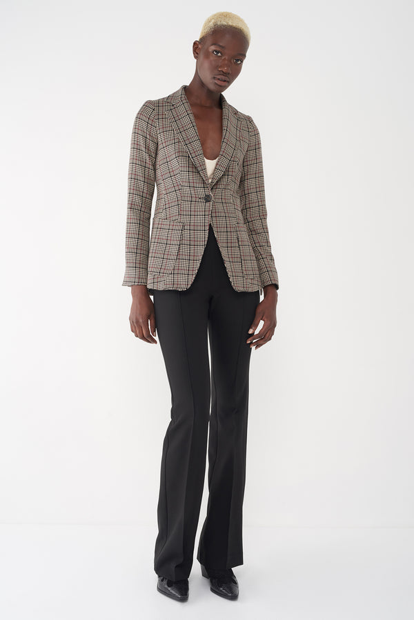 JEFFREY - PLAID BLAZER