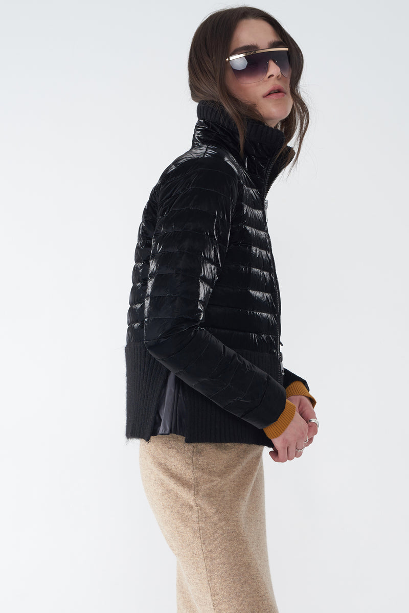 JEWEL - PEARLIZED LIGHTWEIGHT DOWN JACKET