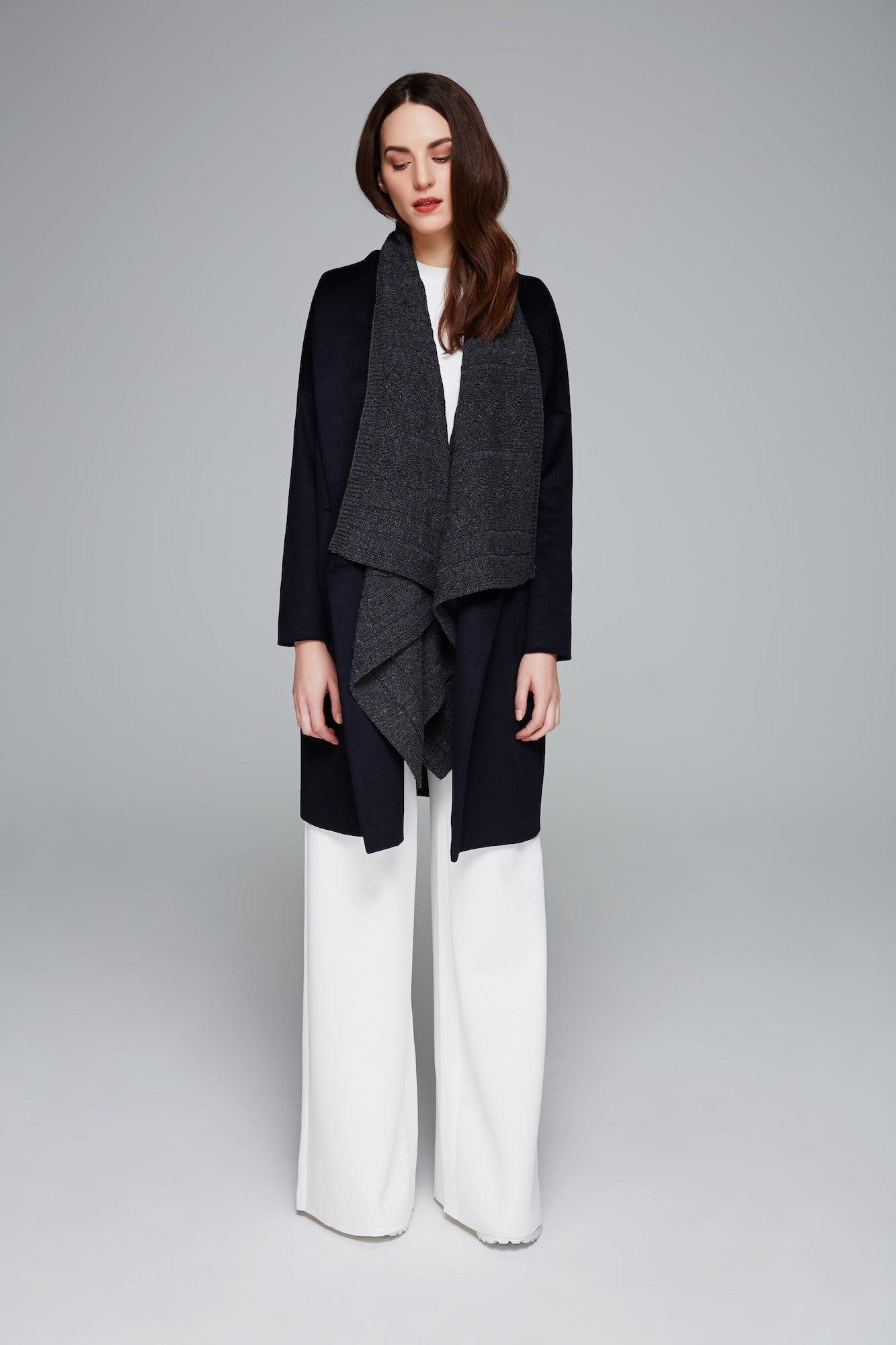 Bobbie Double Knit Coat
