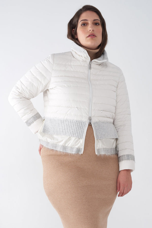 BEV BONE - LIGHTWEIGHT PUFFER JACKET