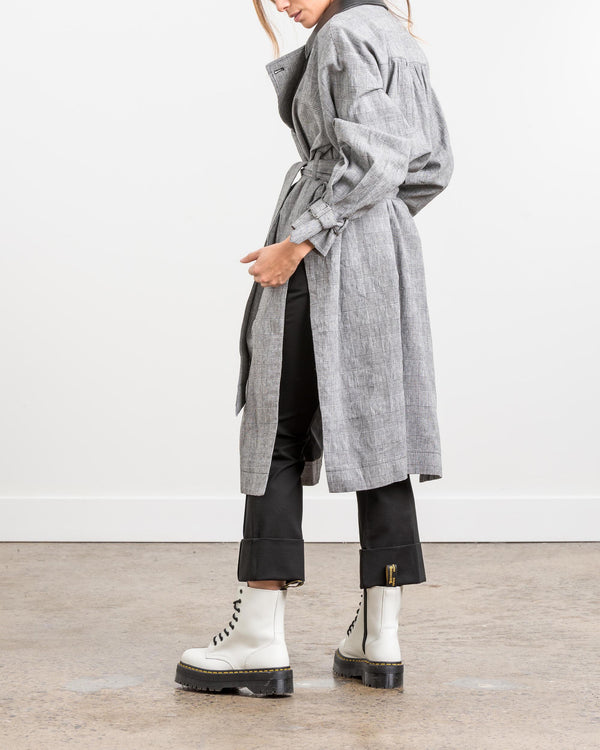 GRACE – Oversized Trench Coat - Søsken Studios