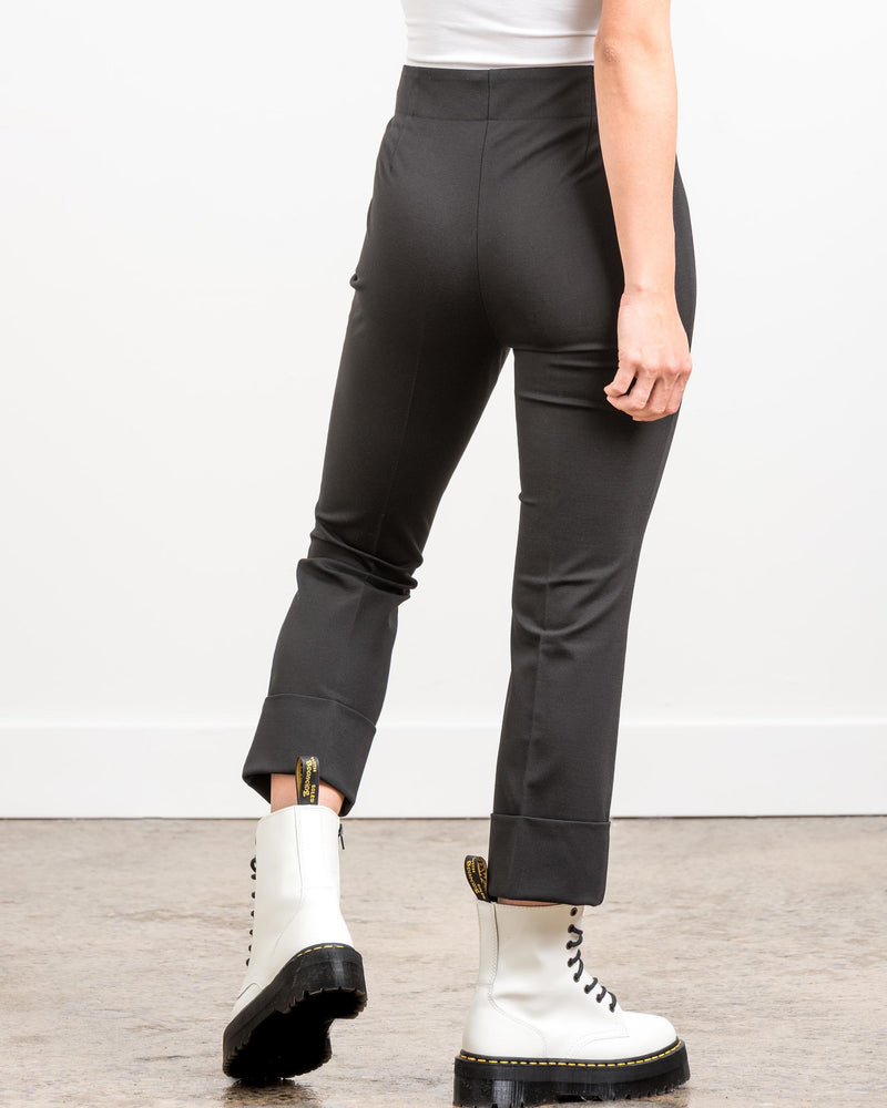 GREG – Highwaisted Black Pants - Søsken Studios