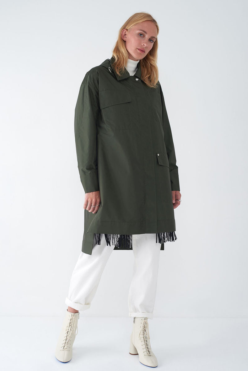 JAY GREEN - 2-IN-1 RAINCOAT & VEST
