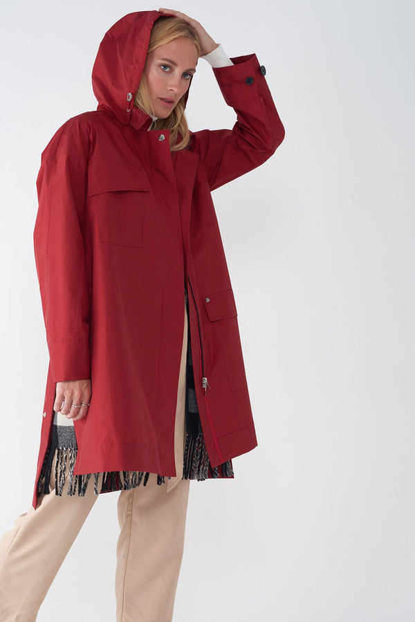 JAY RED - 2-IN-1 RAINCOAT & VEST