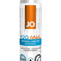 JO H2O Anal - Cooling - Lubricant (Water-Based) 4 fl oz / 120 ml