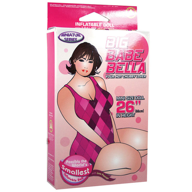 Big Babe Bella Blow Up Mini Doll