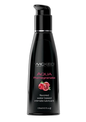 Wicked Aqua Pomegranate Lube 4oz.