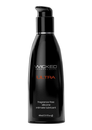 Wicked Ultra Silicone Lubricant 2oz.