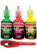 Neon Body Paints 3pk Card