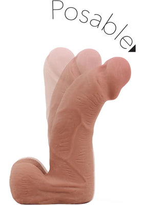 Au Naturel Carlito Dildo 5.5in - Caramel