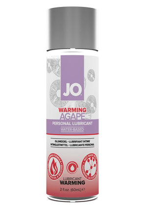 JO Agap - Warming - Lubricant (Water-Based) 2 fl oz / 60 ml