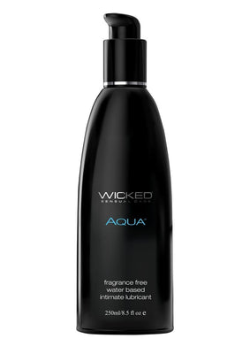 Wicked Aqua 8.5oz. Fragrance Free Lubricant