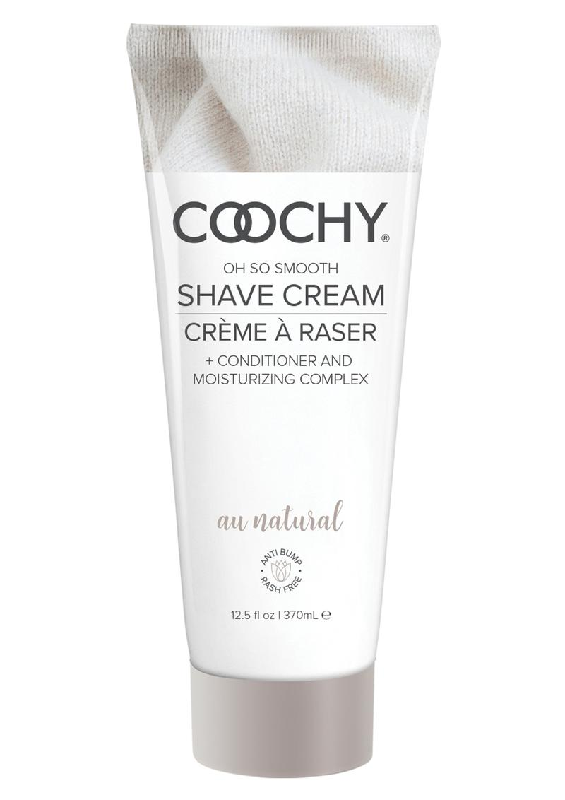 Coochy Oh So Smooth Shave Cream Au Natural 12.5 Ounce