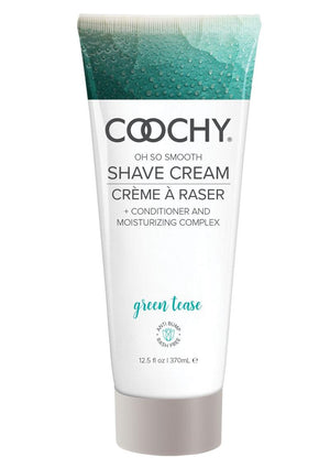 Coochy Oh So Smooth Shave Cream Green Tea 12.5 Ounce