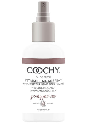 Coochy Oh So Fresh Intimate Feminine Spray Peony Prowess 4 Ounce