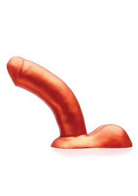Tantus Super Soft Silicone Dildo Waterproof Copper 7 Inch