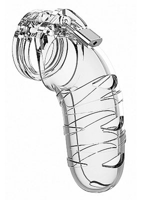 ManCage Model 05 - Chastity - 5.5in - Cock Cage - Transparent