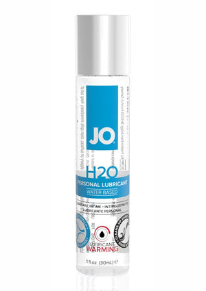 JO H2O Warming 1oz Water Based Lubricant