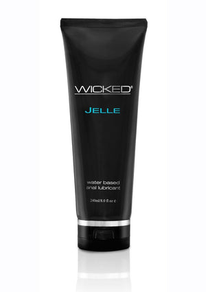 Wicked Jelle Waterbased Anal Gel 8OZ