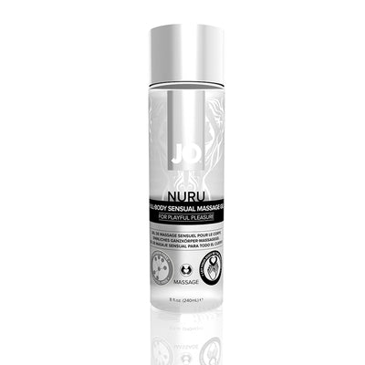 JO Nuru Massage Gel (Fragrance Free) 8 fl oz / 240 ml