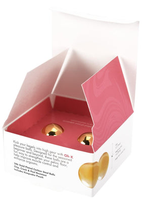 CGC Pleasure Balls 24K Gold Plated (Set)