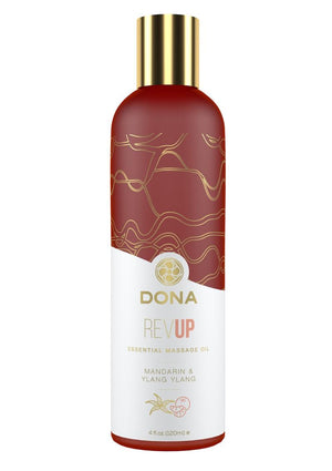 DONA Essential Massage Oil - Revup (Mandarin & Ylang Ylang) 4 fl oz